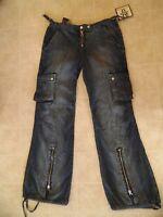 Very Unique Pair Of Junior Younique Denim Jeans, Size 9