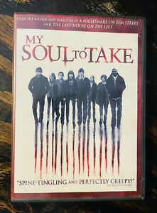 my soul to take dvd scary halloween horror movie
