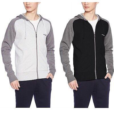 Diesel Men/'s UMLT Brianz Hooded Long Sleeve NEW Jacket  Full Zip Hoodie