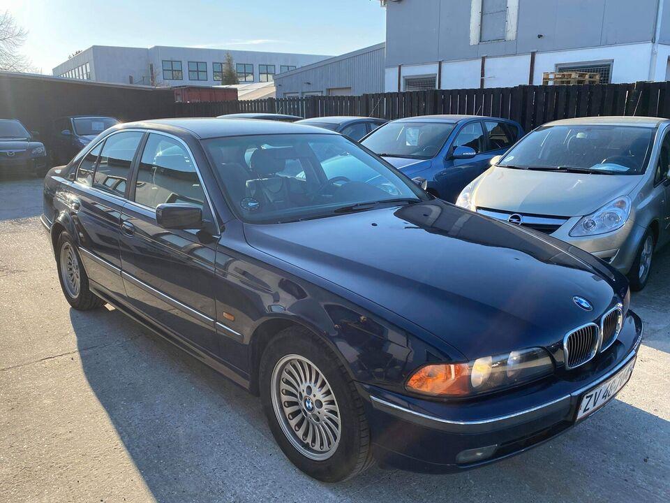 BMW 528i, 2,8 Steptr., Benzin
