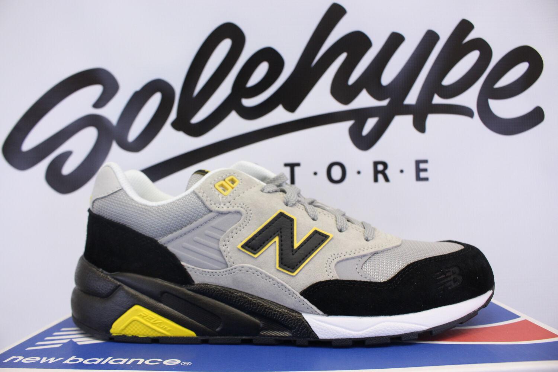 New Balance 580 negro Classics gris amarillo perdido edicion Classics negro mrt580ls SZ 8 36a8ae