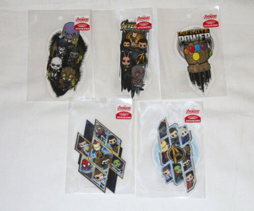 Hot Toys Marvel Avengers Infinity War Cosbaby Stickers Set of 5  #3