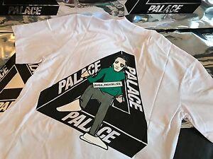 Palacio-Skateboards-FW16-Mediano-Blanco-Joker-Tri-Ferg-Tee-T-shirt-M-2016-Piedra