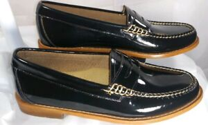 58cd8101ee3 NEW Weejun G.H. BASS Size 6 Women Shoe Black Patent Leather Penny ...