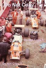 McLaren & Hulme McLaren M7A Garage Area French Grand Prix 1968 Photograph
