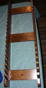 DernièRe Collection De Pilon Display Rack Détient 20 Paire De Tambour Bâtons Teinté Noyer-afficher Le Titre D'origine Utilisation Durable