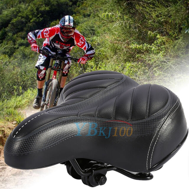 Comfortable Wide Bum Bicycle Seat Bike Saddle Cushion For Mountain Road Bike MTB