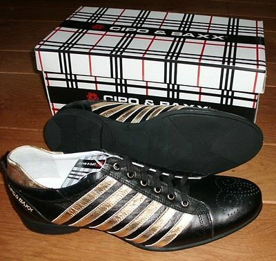 CIPO BAXX Schuhe S 308 Sneaker Gr 40 41 42 43 schwarz RESTPOSTEN Sonderpreis Neu