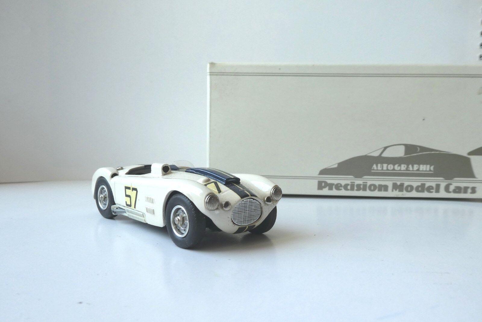 CUNNINGHAM C4-R win Sebring 1953 Walters 1 43 AUTOGRAPHIC RTMC 7 2 n bizarre bbr