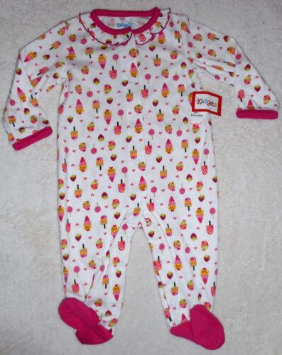 Baby Mädchen Strampler Overall Kuschelanzug Einteiler