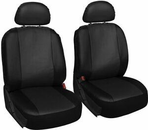 Ferrari F430 Leather Look Mayfair Black Front Car Seat Covers Ebay