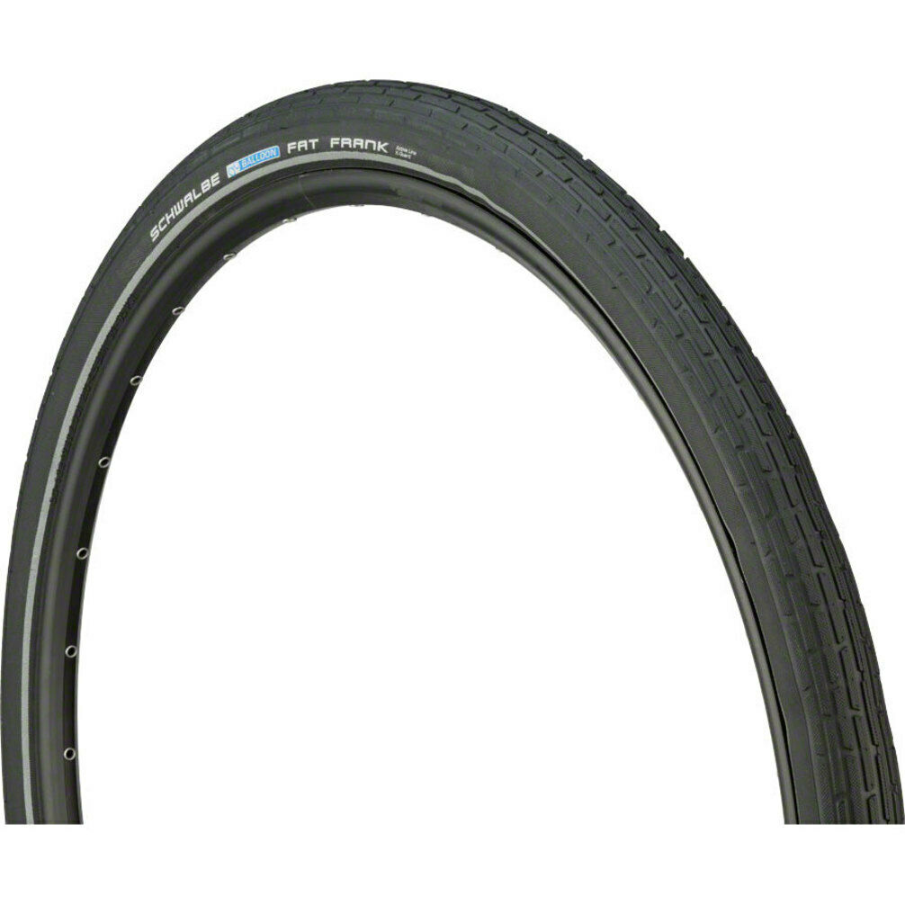 Schwalbe Fat Frank Tire 29 x 2.0 Wire Bead Black with Reflex Sidewall and K-Guar