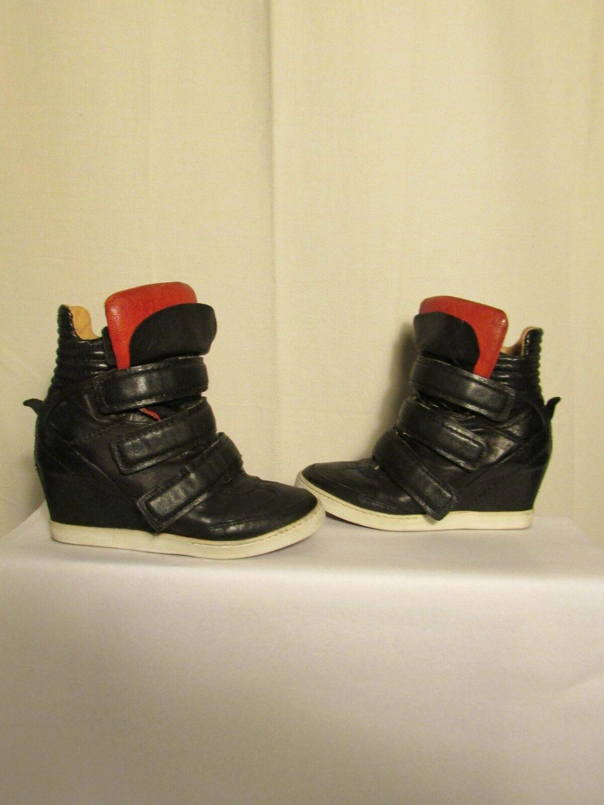Stiefel Stiefeletten Stiefel Air Step Leder Schwarz 36