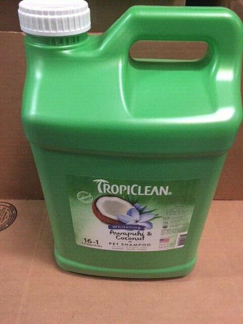 TropiClean Awapuhi & Coconut Shampoo 2.5 Gallon (NEW)