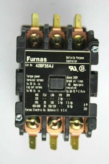 General Purpose Contactor 30A 3 Poles 24V