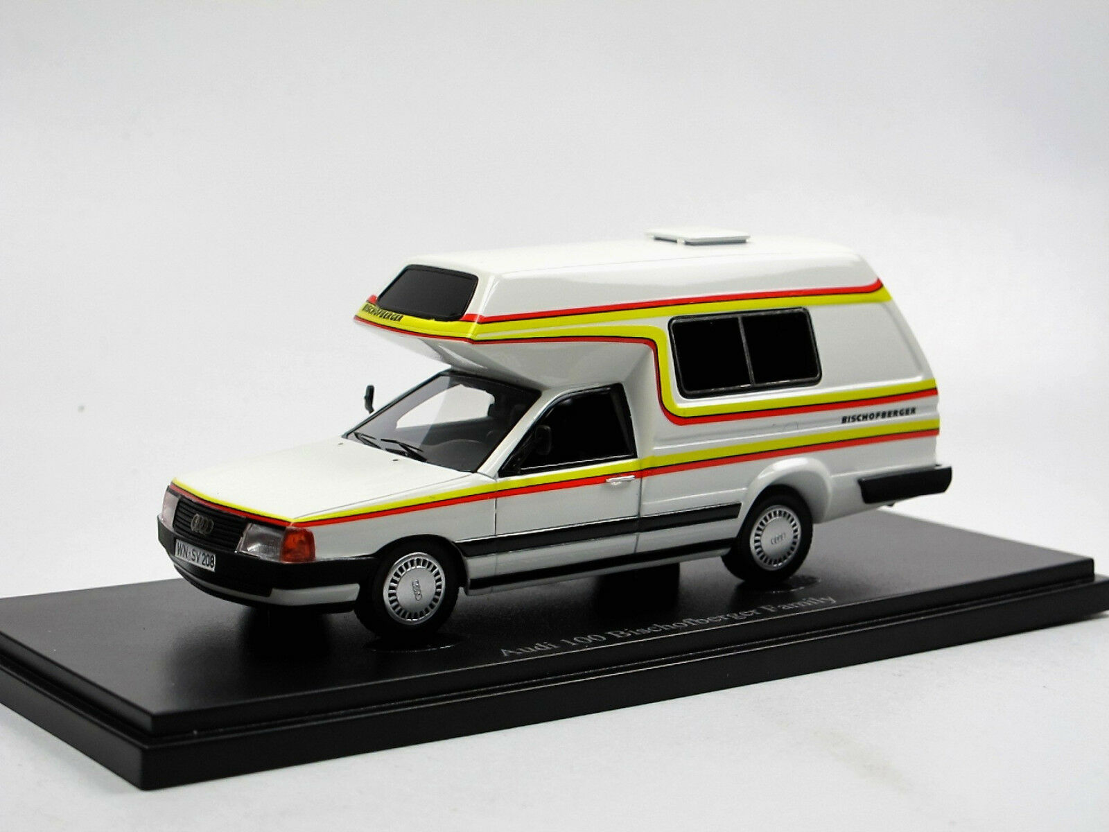 Autocult 09003, 1985 audi 100 bischofberger familie - wohnmobil - camper 1   43