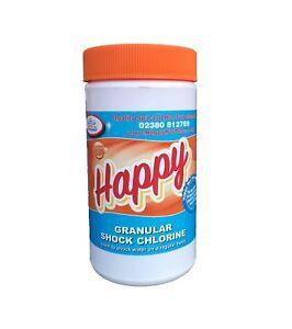 Happy-Hot-Tubs-Chlorine-Shock-Pot-1kg-Tub-Spa-Swimming-Pool-Granular-Clear-Algae