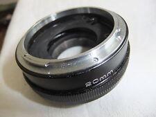 Camera lens EXTENSION TUBE for CANON SLR  VIVITAR 20mm  ..X6