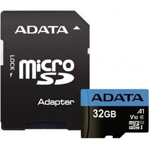 ADATA Premier 32 GB microSDHC Speicherkarte UHS-I U1 Class 10 inkl. SD Adapter