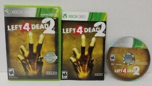 Left 4 Dead 2 Microsoft Xbox 360 Rare Game Complete  Working + Tested