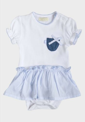 BABY GIRLS BAMBINO PICCOLO ROMPER SUIT AT KIDS CASUALS  AGES 0 TO 12 months