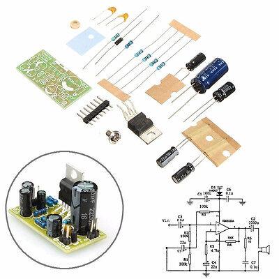 TDA2030A Electronic Audio Power Amplifier Board Mono 18W DC 9-24V DIY Kit SA