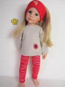 Puppenkleidung für Götz Hannah /& Jessica 46-50cm 3 teiliges Set