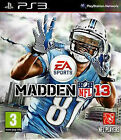 Madden NFL 13 Ps3 PlayStation 3 Boxed
