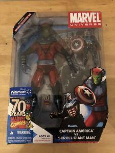 Univers Marvel Captain America Vs Skrull Géant Homme # 6 Af Mu 87 653569427322