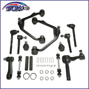 New-14pc-Front-Control-Arm-Ball-Joint-Kit-2-48-034-Bolt-For-Ford-2wd