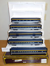 MTH 20-6533 PERE MARQUETTE 70' STREAMLINED PASSENGER 5 CAR SET O SCALE TOY TRAIN