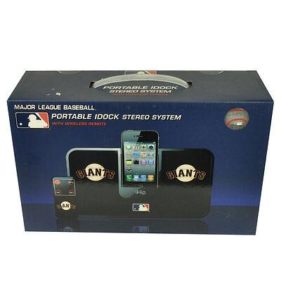 Sport Weitere Ballsportarten Mlb San Francisco Giants Ihip Tragbar Idock Stereo System Wireless Fernbedienung Wir Nehmen Kunden Als Unsere GöTter