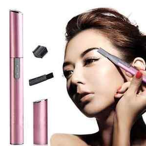 Beauty Electric Face Eyebrow Bikini Hair Body Blade Razor Shaver Remover Trimmer