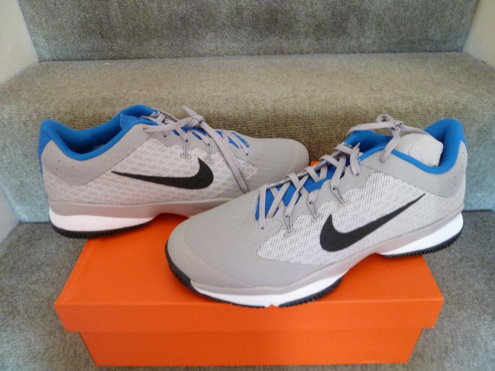 Nike air zoom ultra tennisschuh / trainer uk11 grau - schwarz - weihnachtsgeschenk