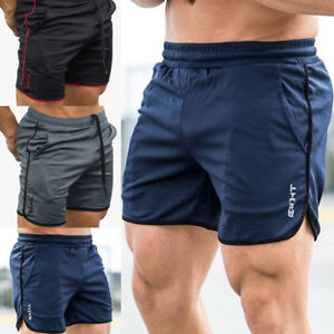 Men-039-s-GYM-Shorts-Training-Running-Sport-Workout-Casual-Jogging-Pants-Trousers-SD