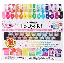 Tulip One Step 18 Color Tie-Dye Kit, Tie Dye, New