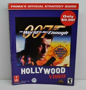 Strategy Guide 007 The World Is Not Enough Prima Games Hollywood
