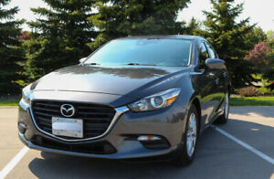 2017 Mazda 3 GS Hatchback w/ Sunroof, One owner, Extend Warranty