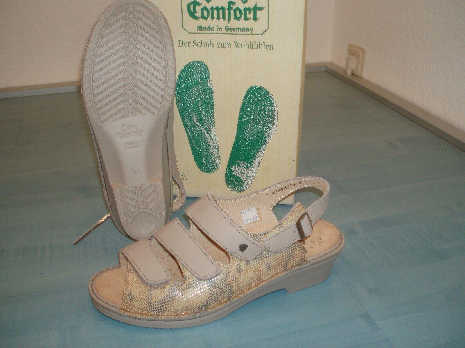 Finn Comfort  Damen Sandale   Gr. 7    Neu