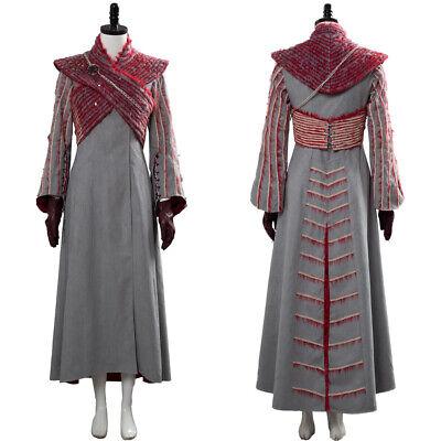 Game of Thrones 8 Daenerys Targaryen Costumes Mother of Dragons Dresses Full Set