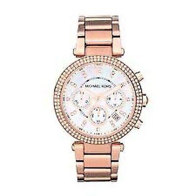 Michael Kors Women's Parker MK5491 Rose Gold Stainless-Steel Quartz Dress Watch