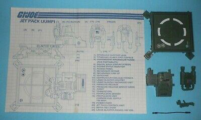 GI Joe A Real American Hero 1984 Vehicle /& Playset Parts MULTI-LISTING