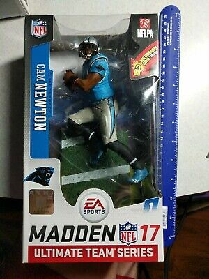 """/""""NEW/"""" Madden NFL 17 Ultimate Team Cam Newton Carolina Panthers 7/"""" Action Figure"""