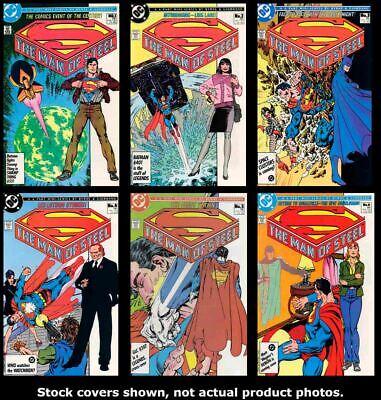 Man of Steel 1-6 2 3 4 5 Full Set 1986 DC Comics