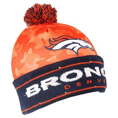 9cb73a48446 Forever Collectibles Denver Broncos Battery Powered Light up Beanie ...