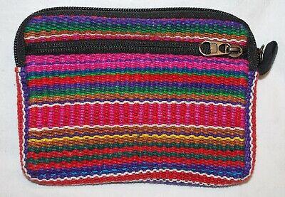 Hippy Hippie Ethical Ethnic Tibetan New Fair Trade Cotton Mobile Mini Bag