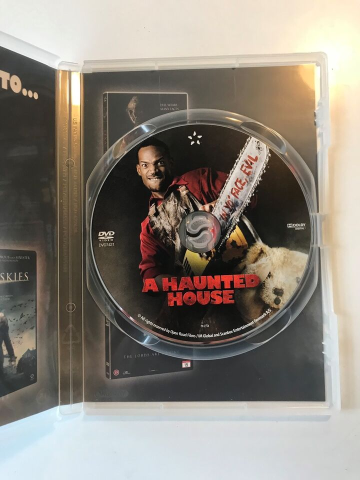 A Haunted House, DVD, komedie