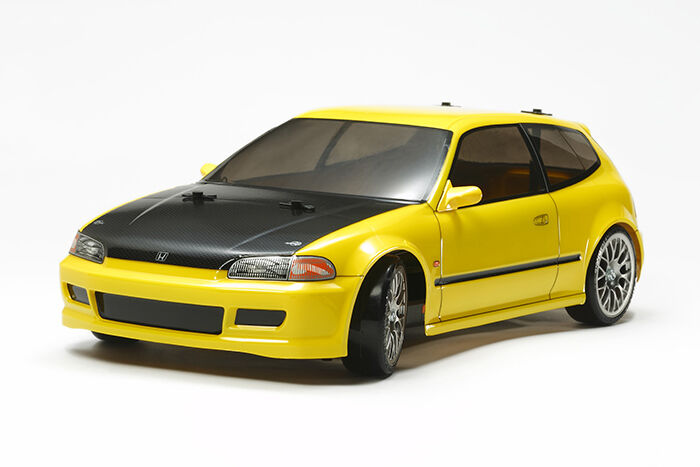 Tamiya 58637 Honda Civic Drift Sir (EG6) TT02D Deal BUNDLE w   STEERTHEEL Radio
