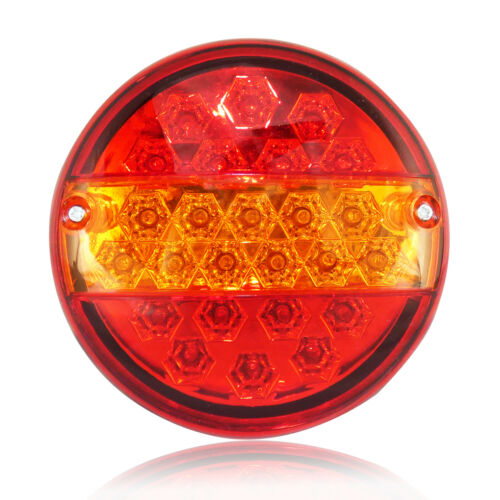 6 X 12V LED RECOVERY REAR TAIL LAMPS LIGHTS TRAILER TRUCK LORRY CHASSIS TIPPER