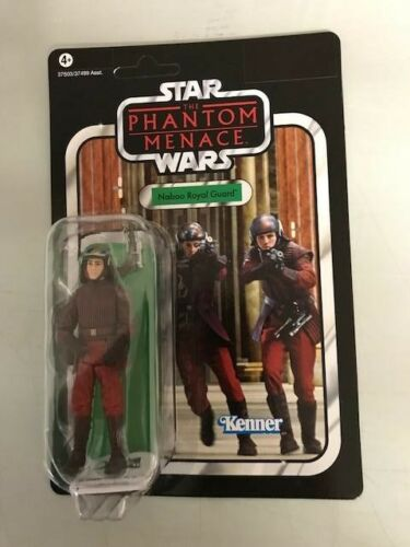 Star Wars Kenner vintage colección Naboo Royal Guard vc83 nuevo embalaje original